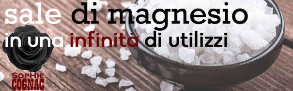 sale di magnesio in una infinità di utilizzi