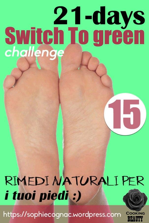 rimedi naturali per i piedi