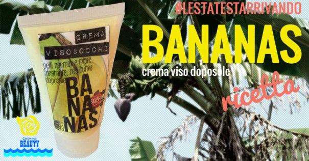 bananas crema viso doposole