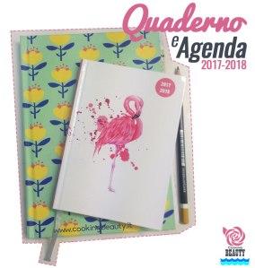 quaderno e agenda