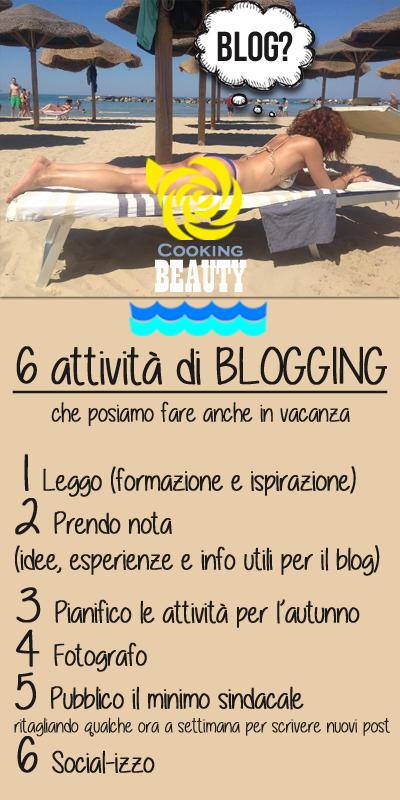 6 attività di blogging per le vacanze