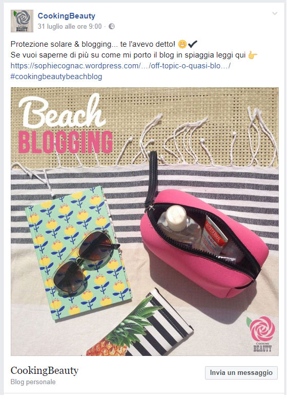 Beach Blogging