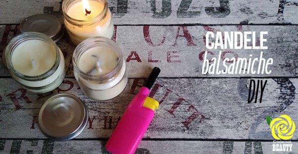 candele balsamiche DIY