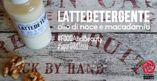 Latte detergente - olio di noci e macadamia