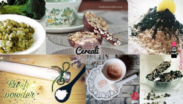 #SaporiDiBellezza - cereali