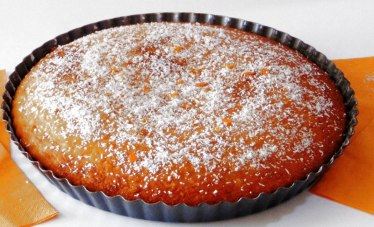 Torta con Farina di Cocco,Arancia e Cannella