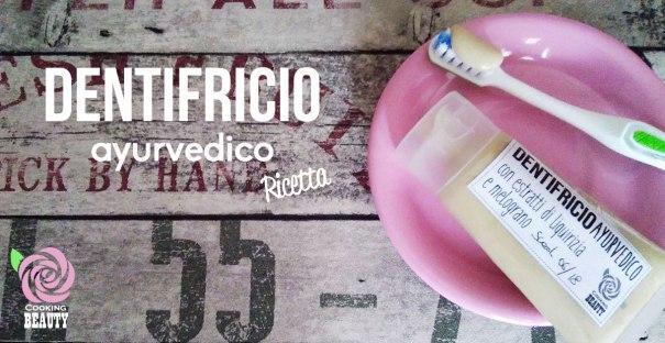 dentifricio ayurvedico - ricetta