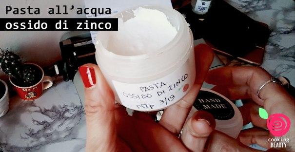 pasta all'ossido di zinco - fai da te