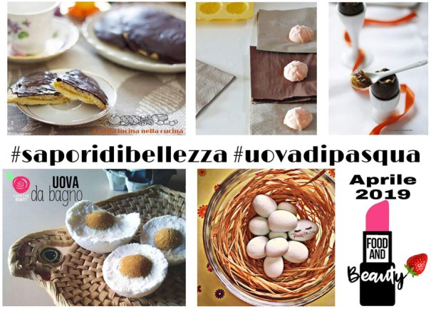 uova di pasqua - collage #foodandbeauty